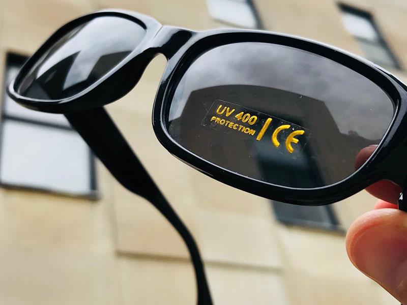 2 روش تشخیص عینک آفتابی استاندارد